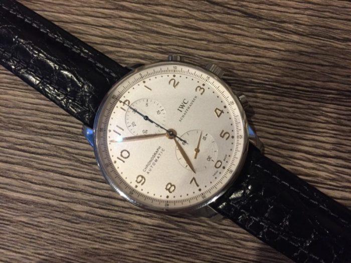 big sale d88df de9c2 IWC ポルトギーゼ ベルト交換 | MAYRO Watch & Repair